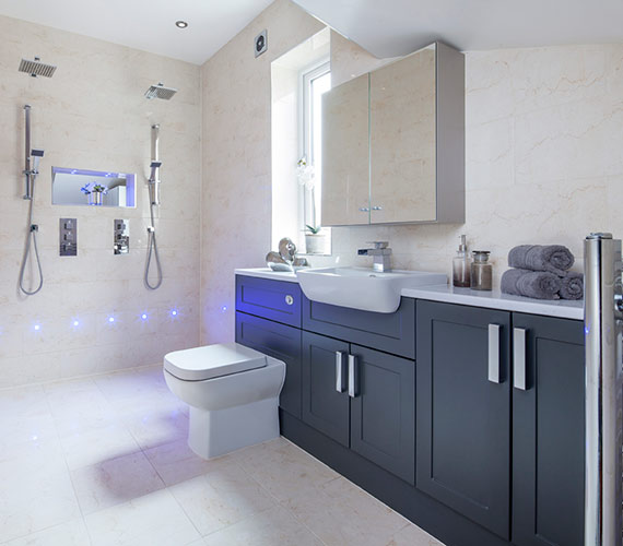 Wakefield bathroom design installation ossett bathroom for Bathroom design leeds